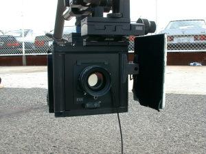面白い形のカメラです。